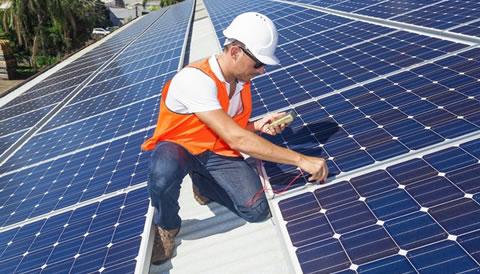 Generator and Solar Panels
