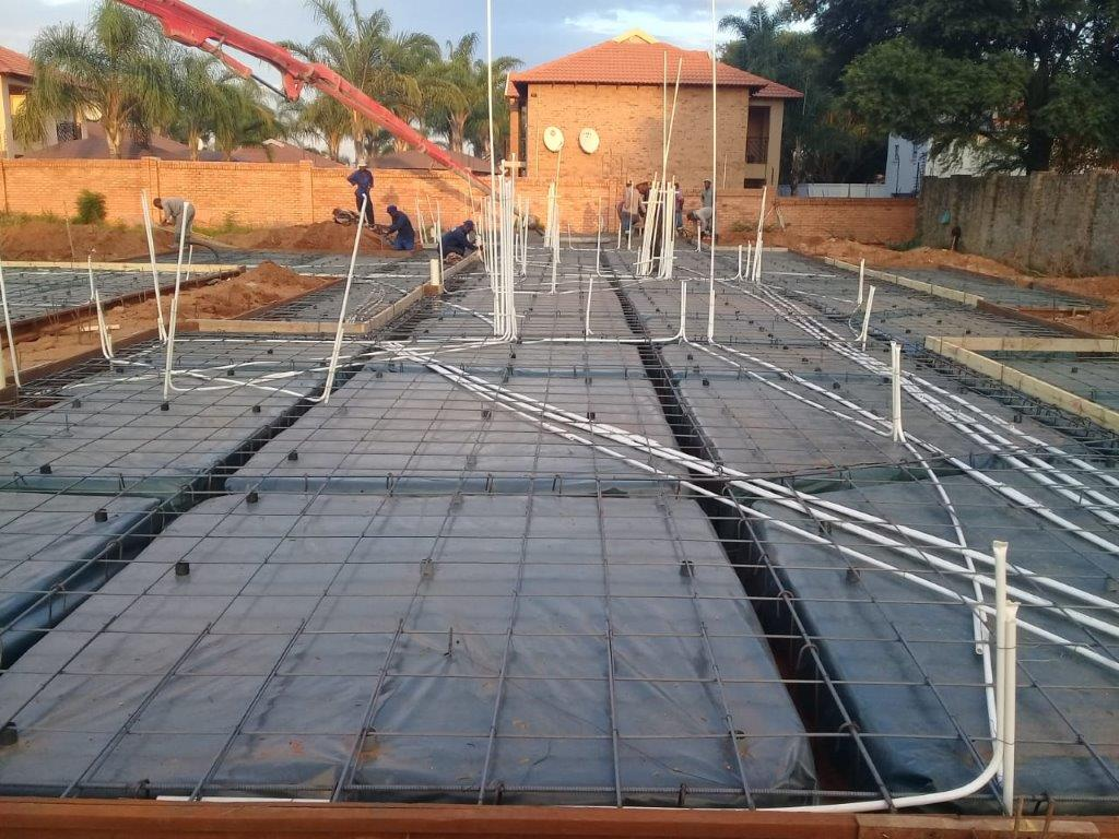 Residential Raft Foundation Construction - Pretoria East - ECO Built