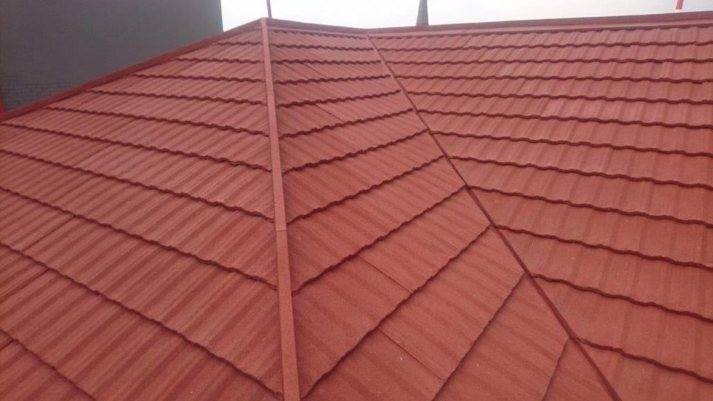 Re-roofing with Harvey Tile