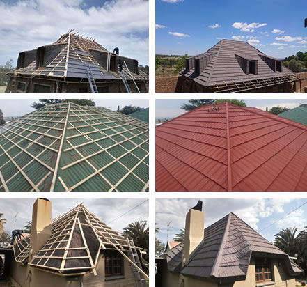 Re-roofing with harveytile
