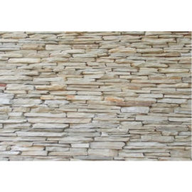 Quartzite Strip Walling