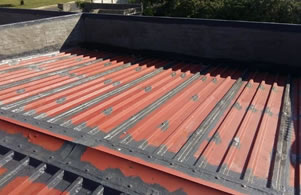 roof repair sheeting